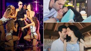 Murat Yıldırım ve eşi İmane Elbani, Pitbull ve Jessica Sutta'nın klibinde oynadı