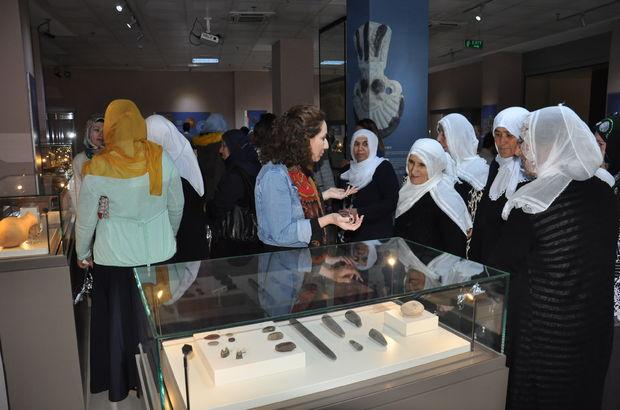 Batmanlı kadınlar ilk kez müze gezdi