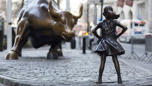 'Korkusuz kız' heykeli için flaş karar!