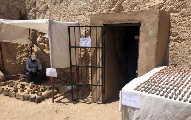 Mısır'da 3500 yıllık firavun dönemi mumyaları bulundu