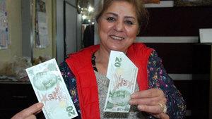 Kastamonu'da parası baskı hatalı çıkan kişi parayı saklama kararı aldı