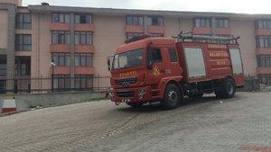 Zonguldak'ta öğrenci yurdunda yangın paniği
