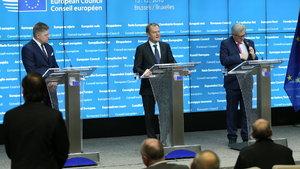 AB Konseyi Başkanı Donald Tusk tekrar başkan seçildi