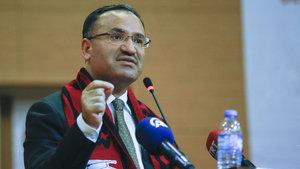 Adalet Bakanı Bekir Bozdağ: Aleyhimize çok ciddi algı operasyonları var