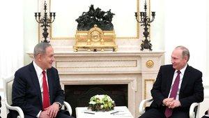 Vladimir Putin ve Binyamin Netanyahu görüştü