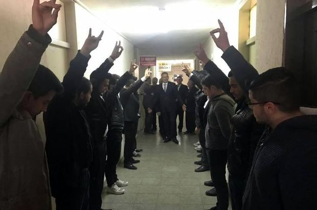 AK Partili vekili böyle karşıladılar