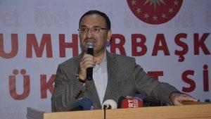Bekir Bozdağ: Türkiye devletinin onuruyla kimsenin oynamasına izin vermeyeceğiz