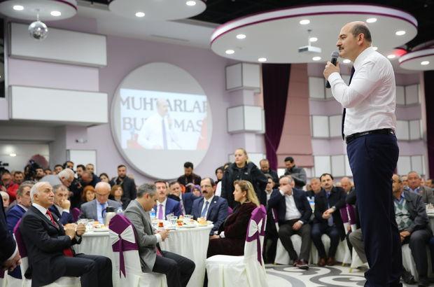 İçişleri Bakanı Süleyman Soylu: Evlatlarımız her yerde onları arıyor; sıçan gibi kaçıyorlar