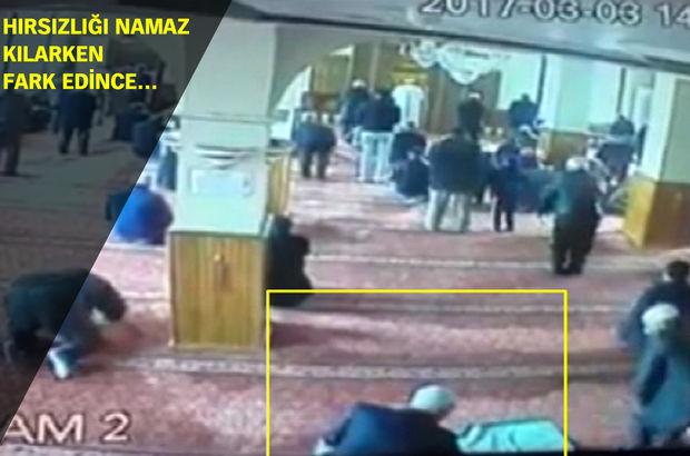 Konya'da camideki hırsızlık girişimine cemaatten dayak