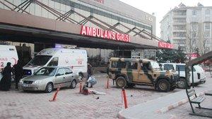 Kilis'te mayın patlaması sonucu 2 asker yaralandı