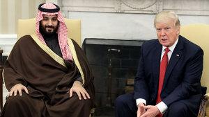 Trump, Suudi Arabistan İkinci Veliaht Prensi ile görüştü