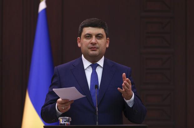 Ukrayna Başbakanı Groysman