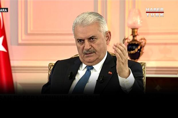 Başbakan Habertürk, Show TV, Bloomberg ortak yayınında konuştu