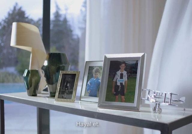 Ronaldo ve Ümmiye Koçak 'Yeter ki hayal et' diyecek