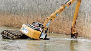 Operatör Yılmaz Arıcan: Suyun derinliğinin fazla olması ve akıntı nedeniyle kaza yaşandı