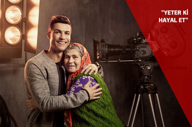 Ronaldo ve Ümmiye Teyze aynı karede!