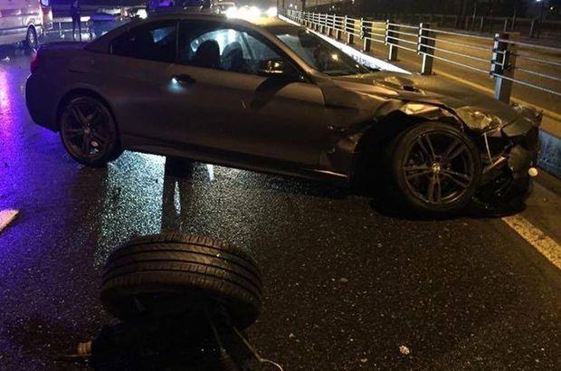 İstanbul Acıbadem'de trafik kazası