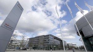 Alman devi Audi'nin tesislerinde arama
