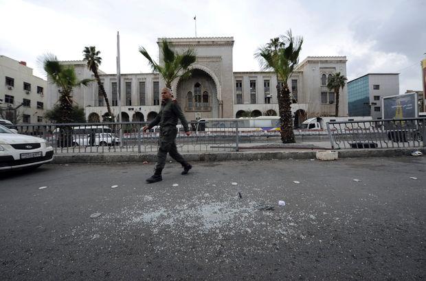 Şam'da adliyeye bombalı saldırı!