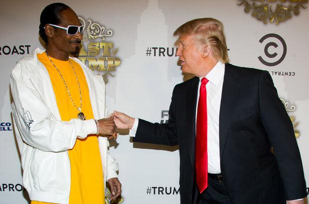 Snoop Dogg, Donal Trump'ın hedefinde: Hapis zamanı!