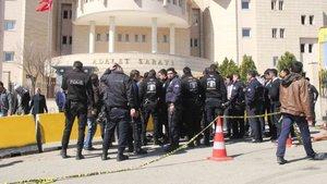 Şanlıurfa adliyesinde silahlı kavga