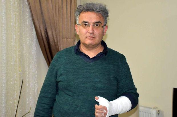 Doktordan 'başhekim kolumu kırdı' iddiası