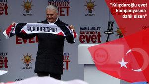 Başbakan Binali Yıldırım Karabük'te