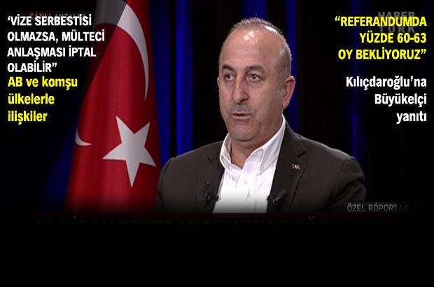 Bakan Çavuşoğlu: ABD Dışişleri Bakanı Türkiye'ye gelecek