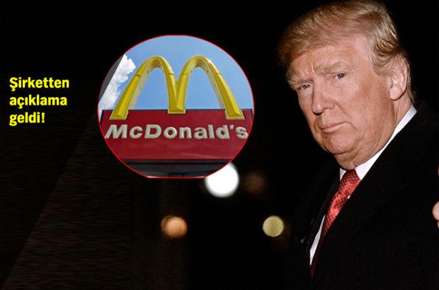 McDonalds'ın Trump tweeti