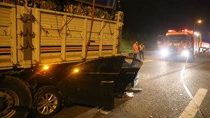 Sakarya'da korkunç kaza! 1 ölü, 6 yaralı