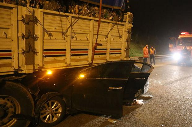 Sakarya'da trafik kazası