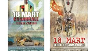 Genelkurmay Başkanlığı'ndan 18 Mart Şehitler Günü'ne özel afiş