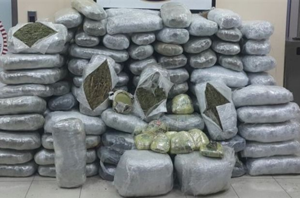 2 ton 700 kilo esrar ele geçirildi, 46 kişi tutuklandı