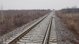 Konya'da tren raylarında boğazı kesilmiş ceset bulundu