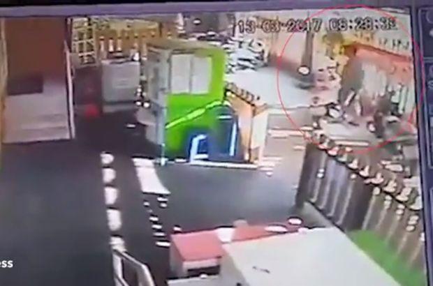 Akıllara durgunluk veren görüntü! Motosiklete tecavüz etti!