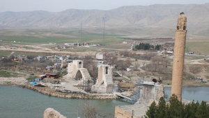 Hasankeyf'te 710 konutun yapım çalışmaları devam ediyor