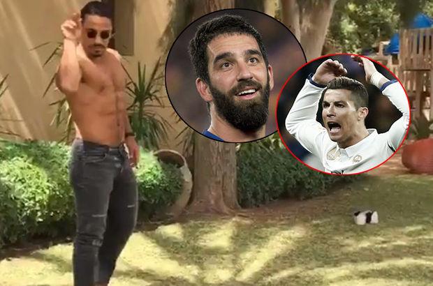 Nusret'ten Arda ile Ronaldo'ya gönderme