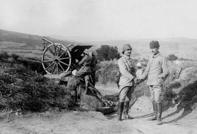 TSK, Çanakkale Zaferi'ne ilişkin fotoğraflar paylaştı (Çanakkale Savaşı fotoğrafları)