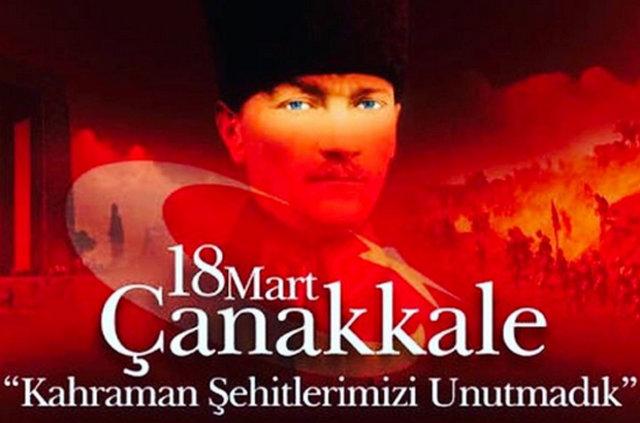 Ünlü isimlerin 18 Mart Çanakkale Zaferi paylaşımları