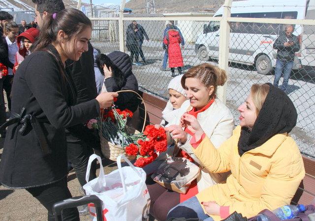 İranlı turistler Van'a akın etmeye başladı