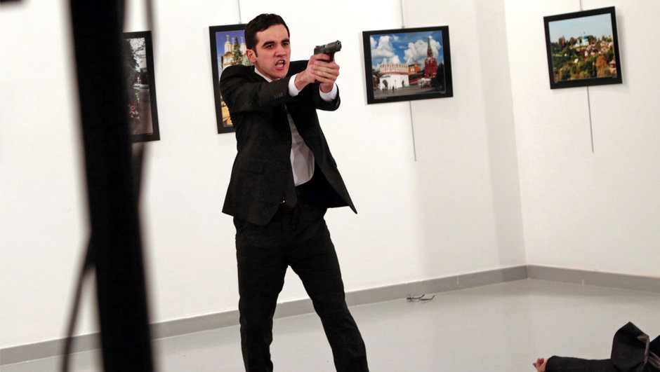 Ankara Büyükelçisi Andrey Karlov Mevlüt Mert Altıntaş