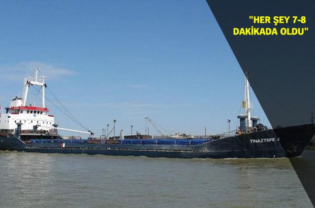 Libya'daki korkunç kazayı anlattı: Gemi ikiye bölündü!