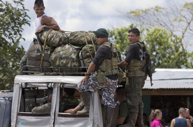 Kolombiya'da hükümetle anlaşan FARC silahlara veda ediyor