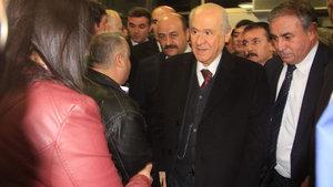 MHP lideri Devlet Bahçeli Elazığ'da