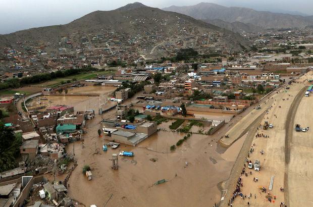 Peru'da sel felaketi 67 can aldı!