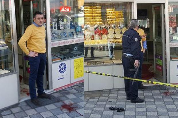 Ataşehir'de silahlı çatışma! Polis peşlerine düştü