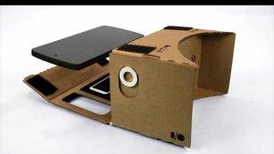 Google'dan hem telefon kutusu, hem VR gözlük