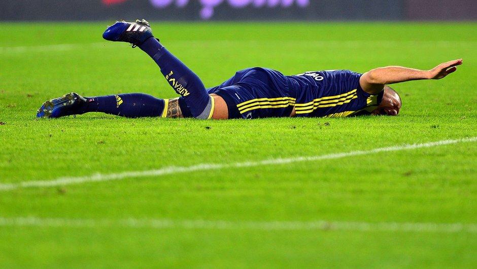 Fenerbahçe Fernandao sakatlık