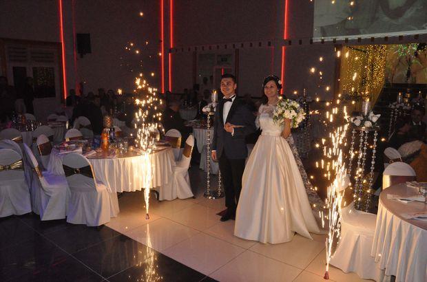 Ukraynalı geline Türk usulü düğün