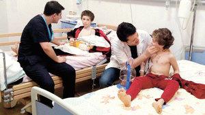 DEAŞ'ın elinden kurtulan çocuklar yaşadıklarını anlattı